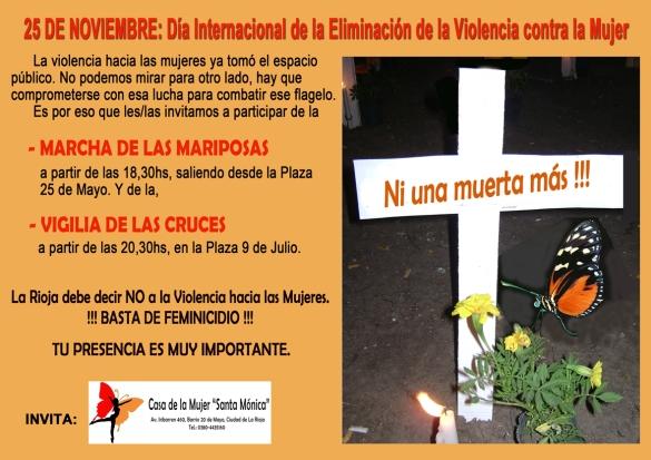 INVITACION MARCHA DE LAS MUJERES 25-11